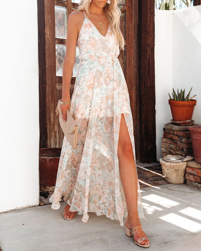 Source Of Love Floral Maxi Dress