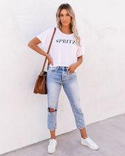 Spritz Cropped Tee view 10