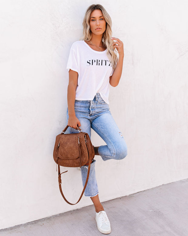 Spritz Cropped Tee view 8