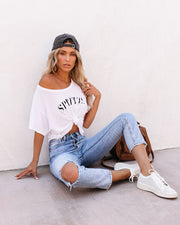 Spritz Cropped Tee view 1
