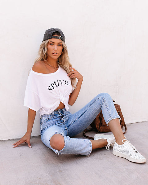 Spritz Cropped Tee