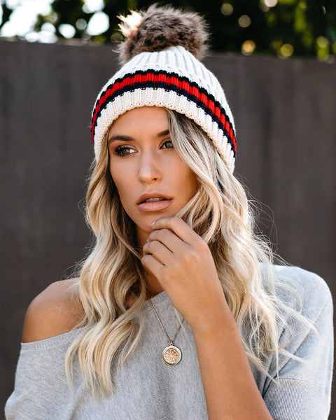 Squaw Valley Pom Beanie