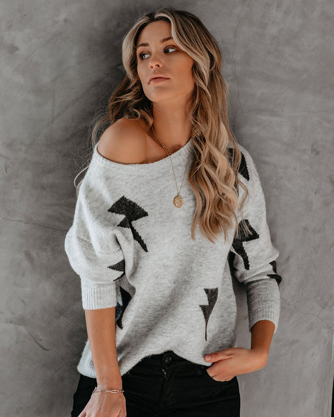 Storm On The Horizon Knit Sweater