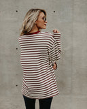 Yates Striped Cotton Top