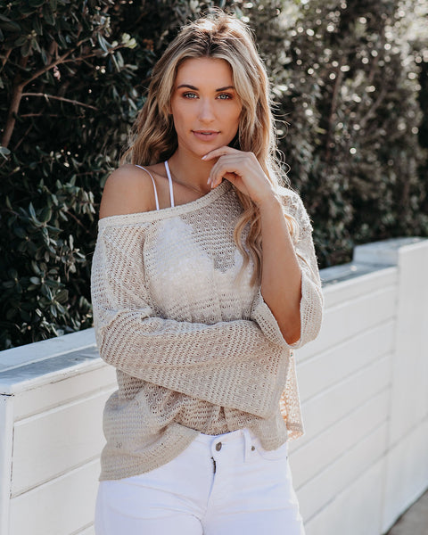 Strung Out On You Knit Top - FINAL SALE