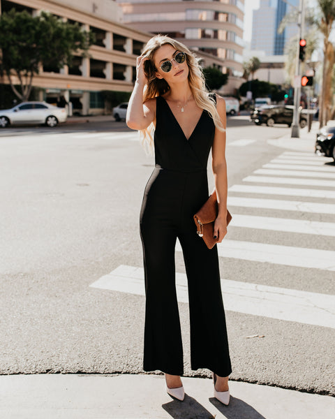 Style Is Forever Jumpsuit - Black - FINAL SALE