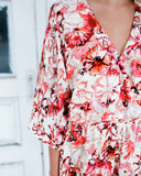 Sunny Street Floral Dress