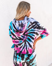 Surreal Cotton Blend Tie Dye Hoodie - FINAL SALE