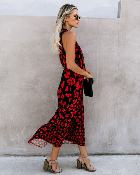 Tarte Floral Ruffle Maxi Dress - FINAL SALE