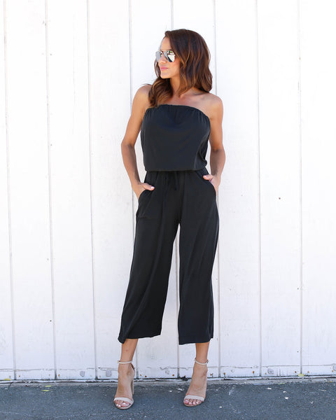 Santa Monica Pocketed Jumpsuit