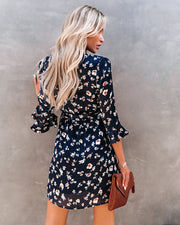 Taste Of Honey Floral Wrap Dress view 2