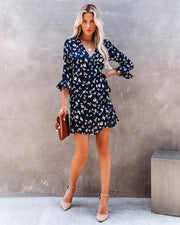 Taste Of Honey Floral Wrap Dress view 5