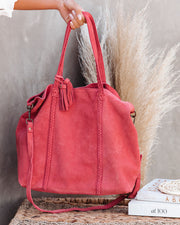 Tenzin Braided Suede Tote Bag view 4