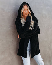 The Coziest Yet Pocketed Cardigan - Black