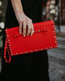 Indie Studded Clutch