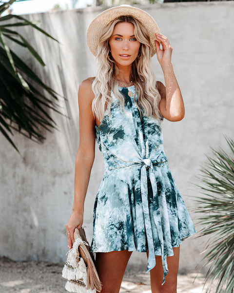 The Shallows Tie Dye Romper