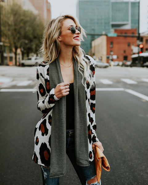 Bengal Pocketed Cardigan - FLASH SALE