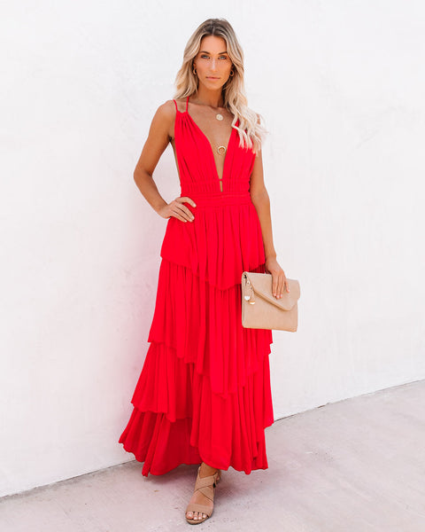 Todos Santos Tiered Maxi Dress