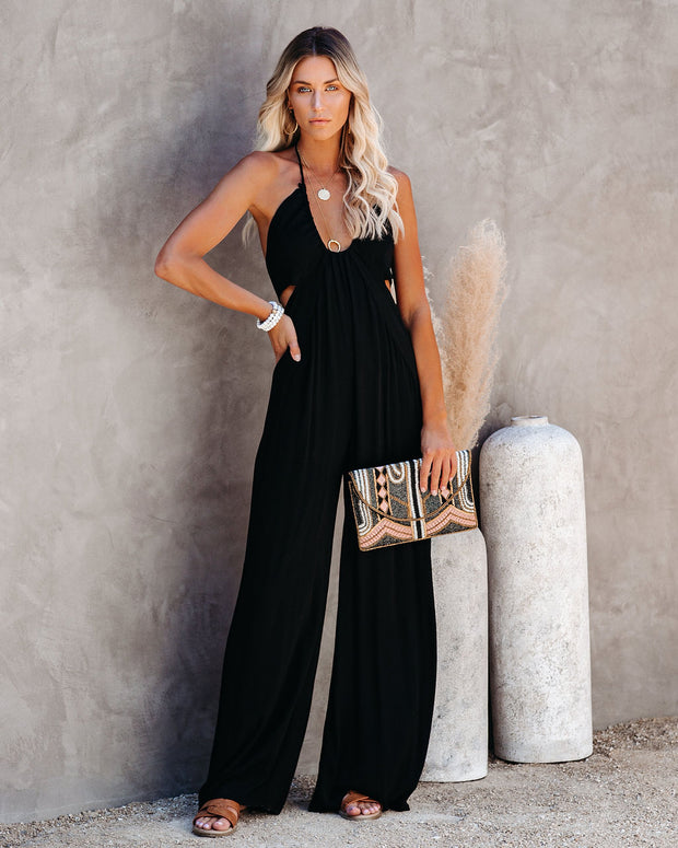 Top Influencer Halter Jumpsuit view 1