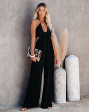 Top Influencer Halter Jumpsuit view 5