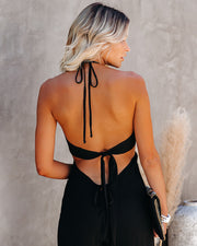 Top Influencer Halter Jumpsuit view 2