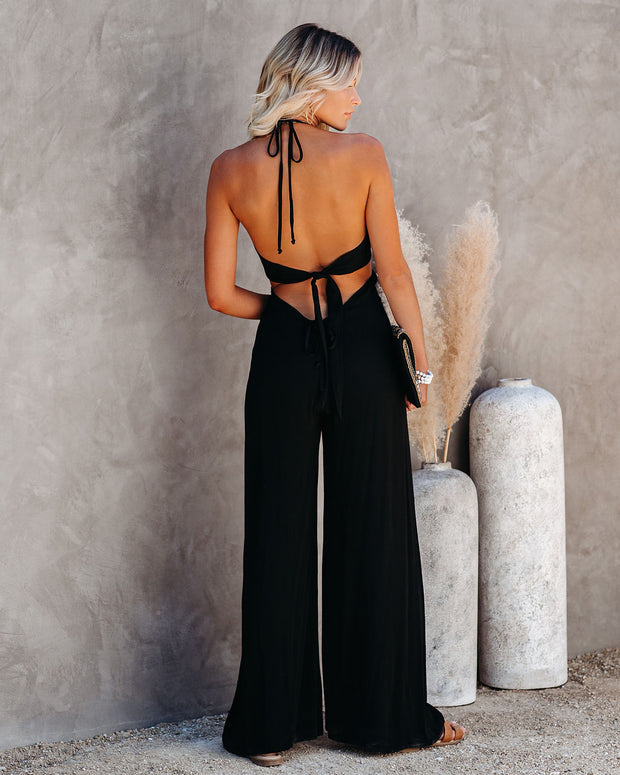 Top Influencer Halter Jumpsuit view 7