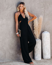 Top Influencer Halter Jumpsuit view 3