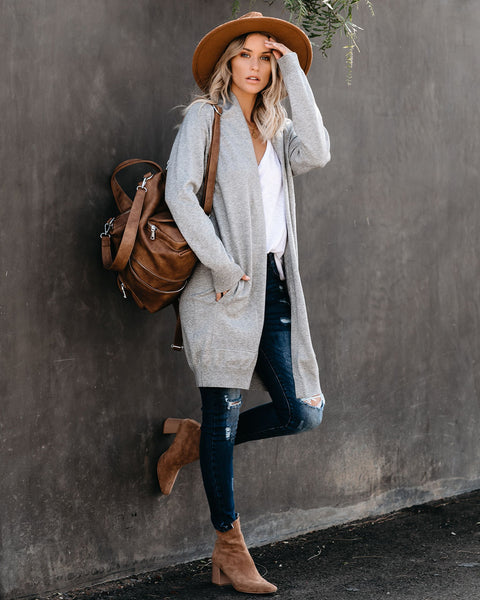 Transition Pocketed Cardigan