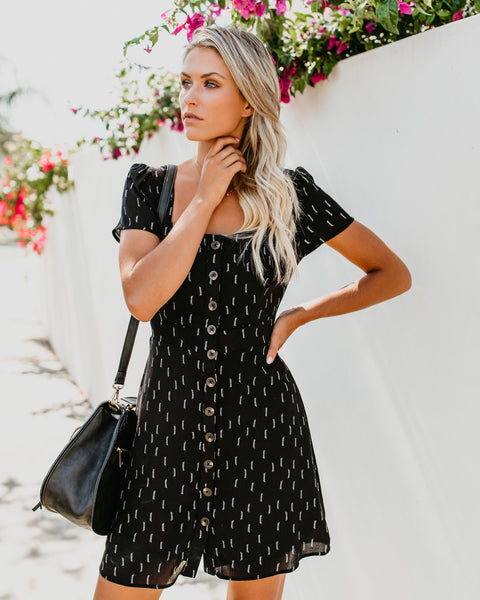 Tricks Of The Trade Button Down Dress