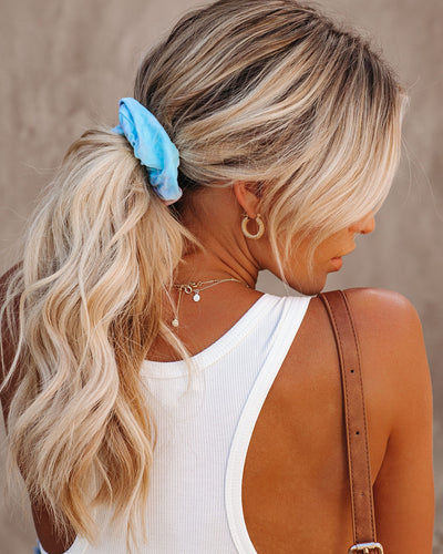 Trinity Tie Dye Hair Scrunchie - FINAL SALE