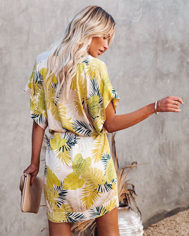 PREORDER - Tropical Vibes Only Versatile Kimono Dress view 2