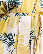 PREORDER - Tropical Vibes Only Versatile Kimono Dress view 4