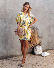 PREORDER - Tropical Vibes Only Versatile Kimono Dress view 7