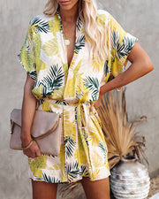 PREORDER - Tropical Vibes Only Versatile Kimono Dress view 5