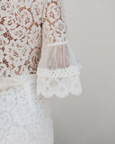 Lady Luck Lace Top - White