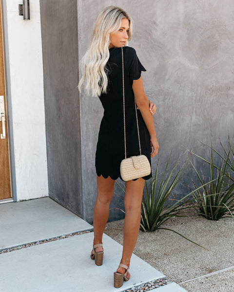 Until Midnight Scalloped Dress