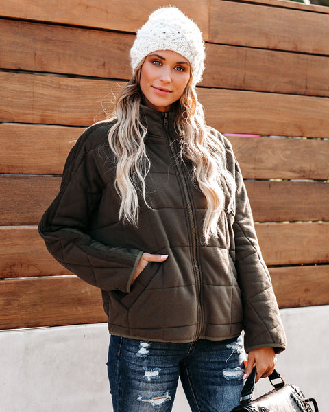 Vail Cotton Pocketed Quilted Jacket - FINAL SALE