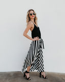 Venezia Striped Midi Skirt - FINAL SALE