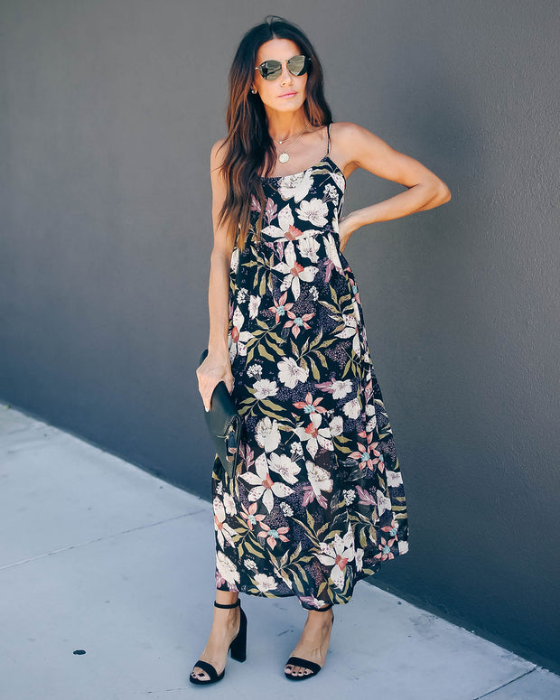 Nothing Holding Me Back Floral Maxi Dress - FINAL SALE
