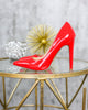 Style Muse Heels - Red - FINAL SALE
