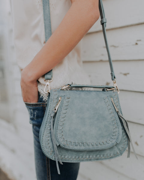 Khloe Crossbody Bag - Denim Blue