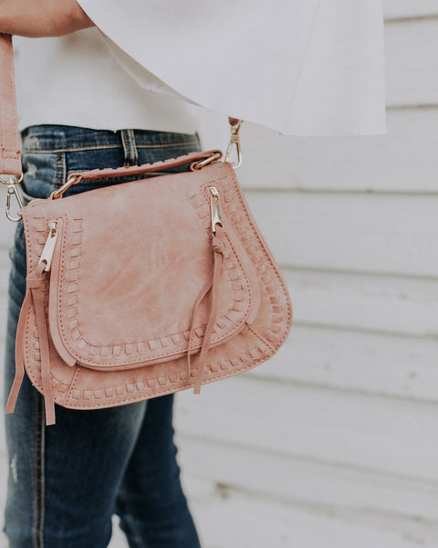 Khloe Crossbody Bag - French Rose