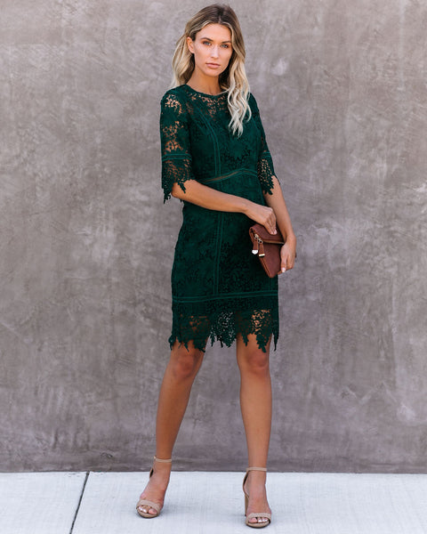Walla Walla Crochet Lace Dress - FINAL SALE