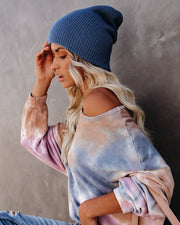 Weekend At The Lodge Beanie - Denim