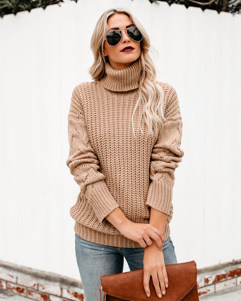 Westwood Knit Sweater - Oatmeal - FINAL SALE