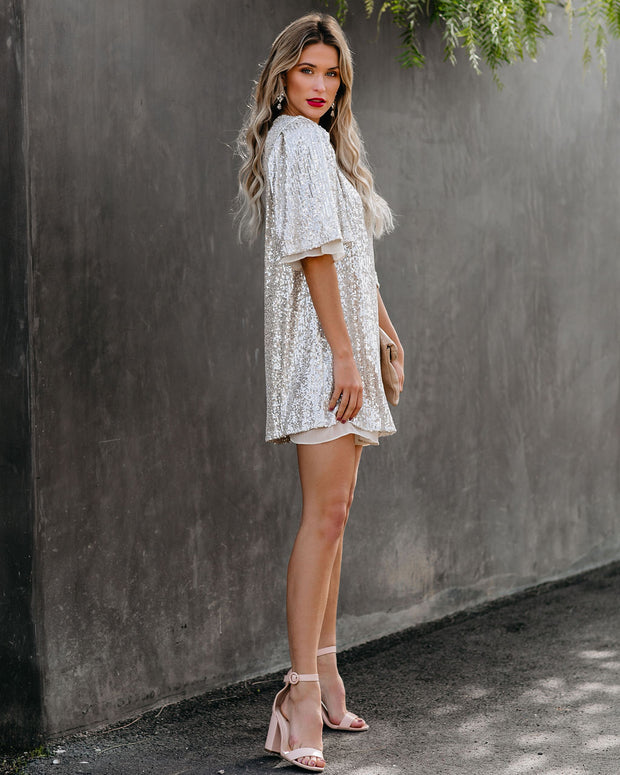 Whatever You Like Sequin Shift Dress - FINAL SALE