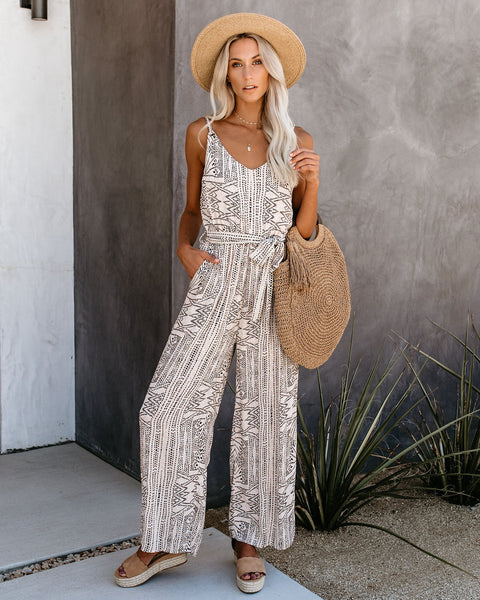 PREORDER - What's The Scoop Pocketed Jumpsuit