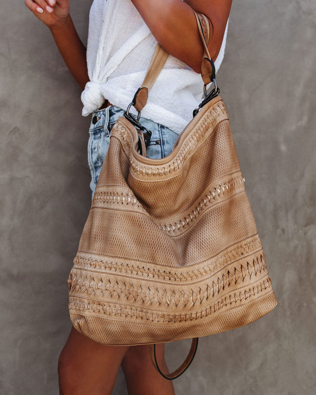 Whimsy Braided Crossbody Handbag