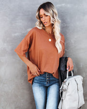 Willa Cotton Oversized Tee
