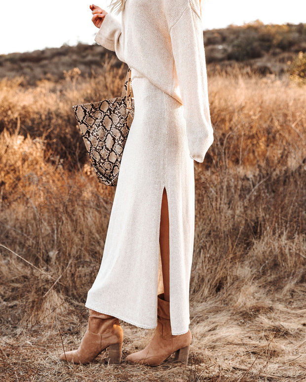 Willis Knit Maxi Skirt